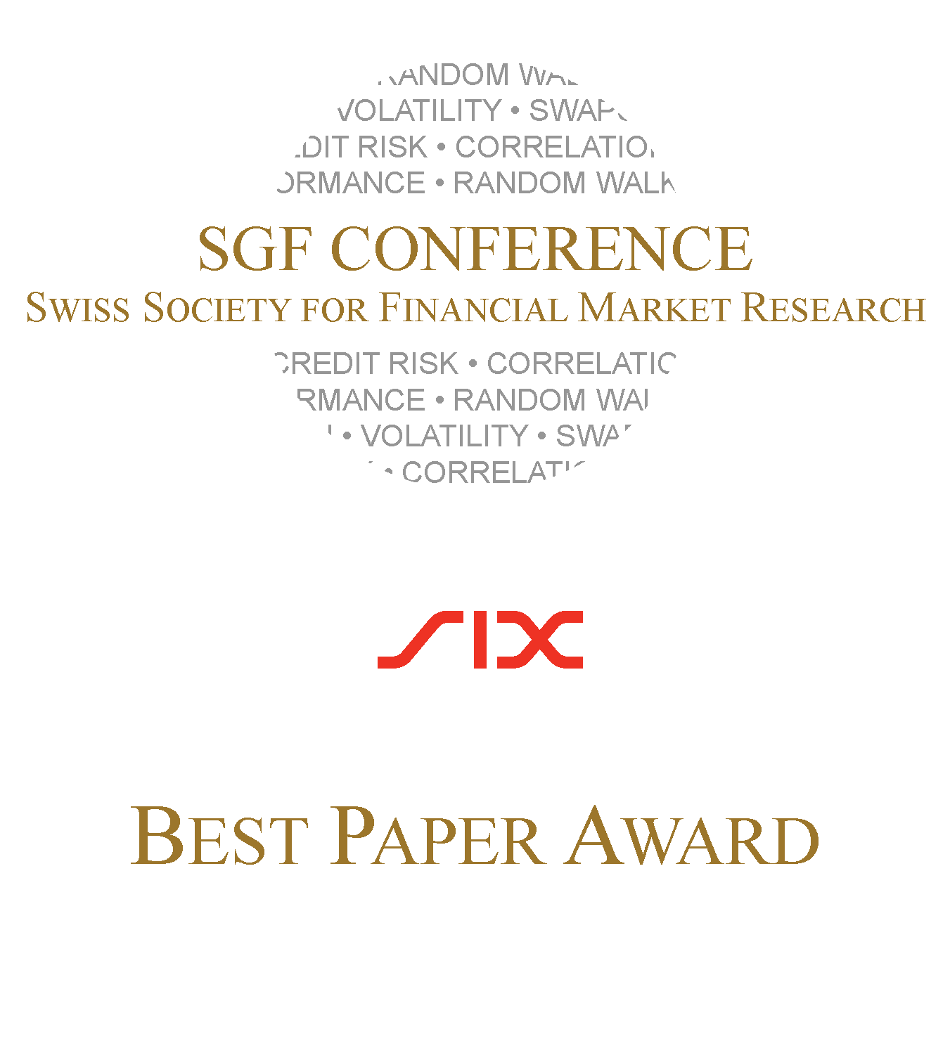 SGF Best Paper Award Tombstone